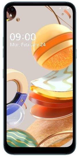 LG K61s pametni telefon, 4GB/128GB, titan (LMK630EMW)