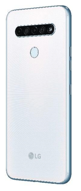 LG K61s pametni telefon, 4GB/128GB, bel (LMK630EMW), DTS-X