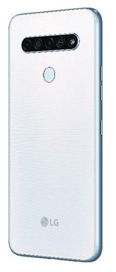 LG K61s pametni telefon, 4GB/128GB, bel (LMK630EMW)