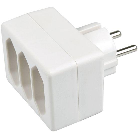SENCOR SPC 60 rozbočka 3× 2,5 A / 250 V, biela