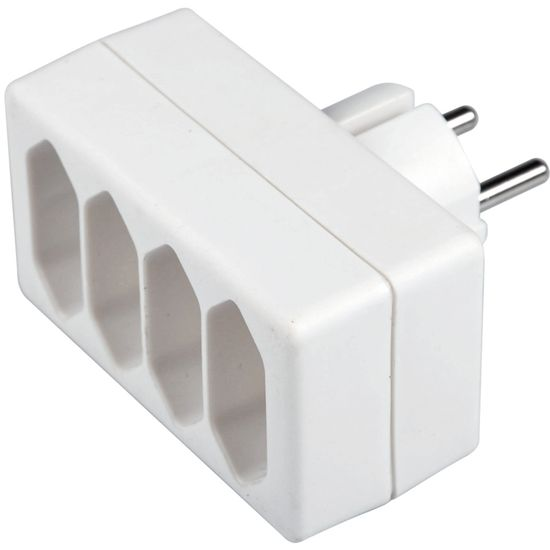 SENCOR SPC 61 rozbočka 4× 2,5 A / 250 V, biela