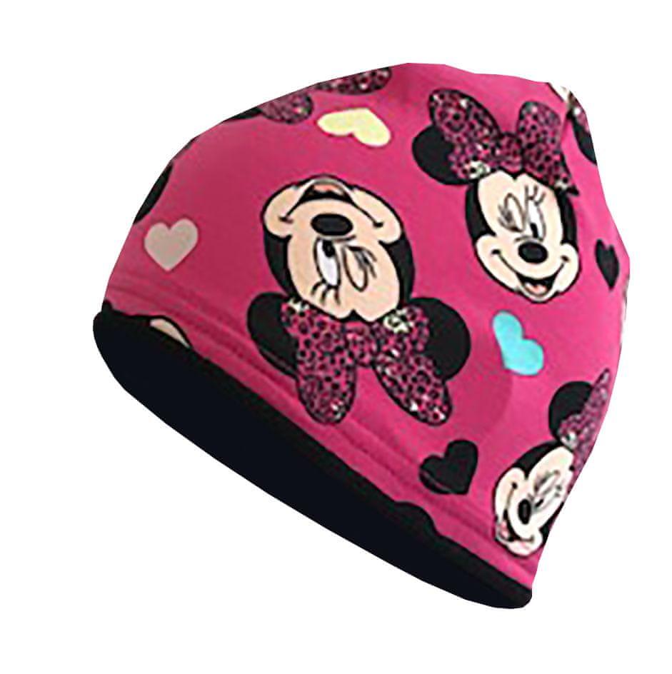Yetty dívčí čepice B414 S růžová