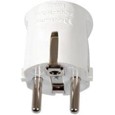 SENCOR SPC 64 zástrčka 16 A / 250 V, bílá