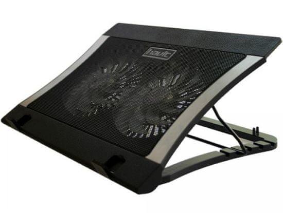 Havit HV-F2051 hladilno stojalo za prenosnik, 43,18 cm, 2 x USB