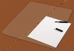 PANTA PLAST Podložka na stůl, transparentní, 648x509 mm