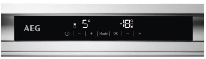 AEG vestavná lednička Mastery SCE818D3LC + 10 let záruka na kompresor