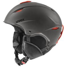 Uvex lyžařská helma Primo, dark slate orange mat 55-59 cm