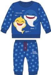 Disney chlapecká souprava Baby Shark modrá 80