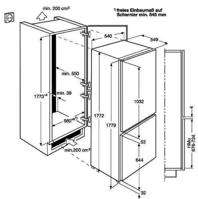 AEG Mastery NoFrost SCE818E6TS + 10 let záruka na kompresor