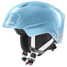 Uvex lyžařská helma Heyya, blue confetti 46-50 cm