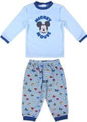 Disney chlapecké pyžamo Mickey Mouse modrá 86