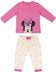 Disney dívčí pyžamo Minnie Mouse růžová 80