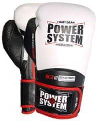 POWER SYSTEM Boxerské rukavice Impact Evo bílé 12oz
