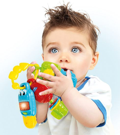 Clementoni Baby elektronické chrastítko klíče