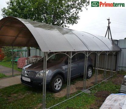 """Primaterra Garážový přístřešek """"Primaterra Berlina"""" 2.65x4x2.65 zelený"""