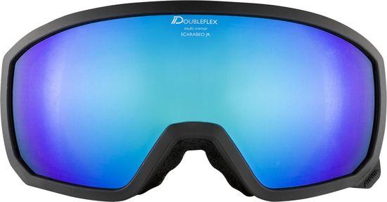 Alpina Sports gogle narciarskie Scarabeo JR HM, czarne, A7257.8.33