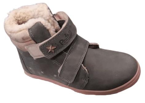 Ponte 20 chlapecké zimní boty 30 šedá