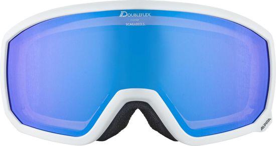 Alpina Sports gogle narciarskie Scarabeo S HM, białe, A7261.8.12