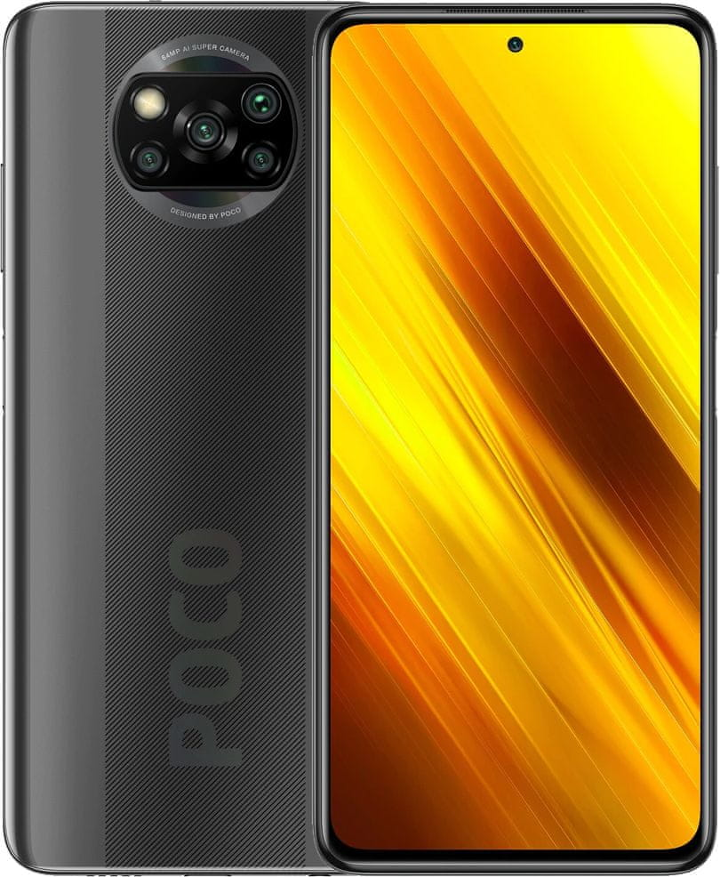 Xiaomi POCO X3 NFC, 6GB/64GB, Shadow Gray