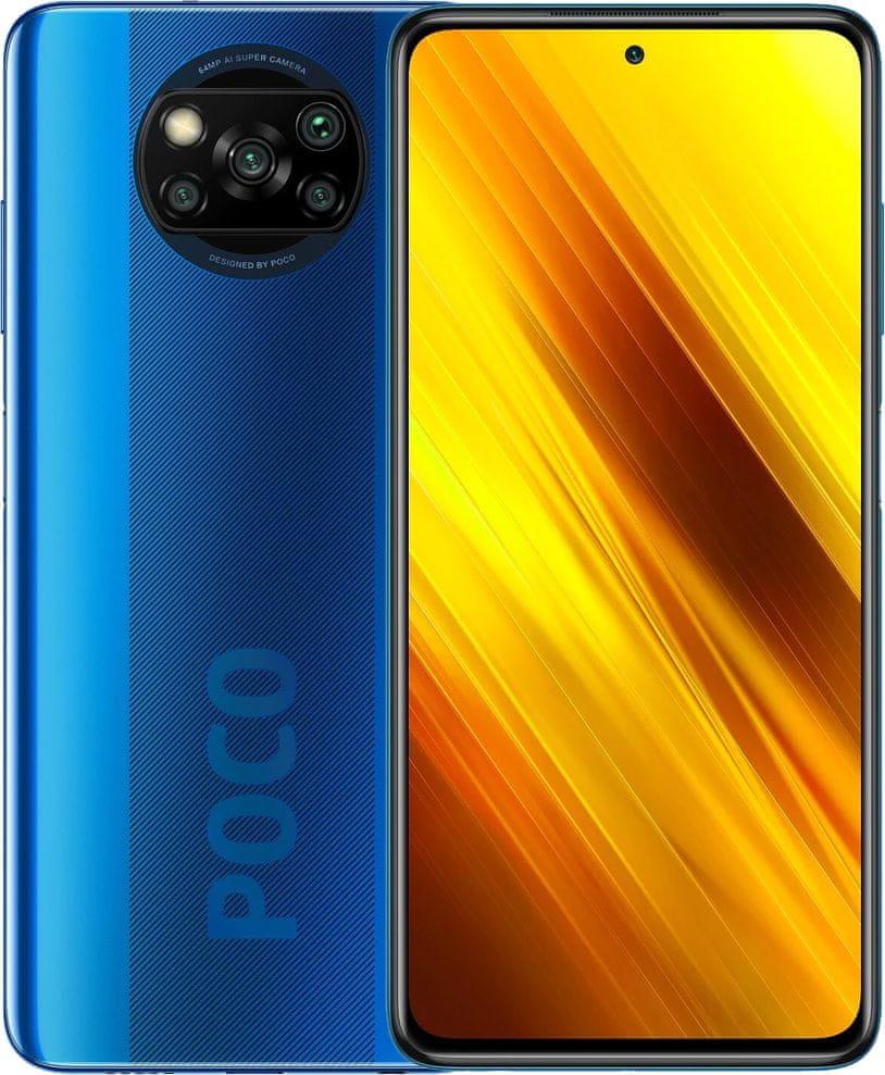 Xiaomi POCO X3 NFC, 6GB/64GB, Cobalt Blue