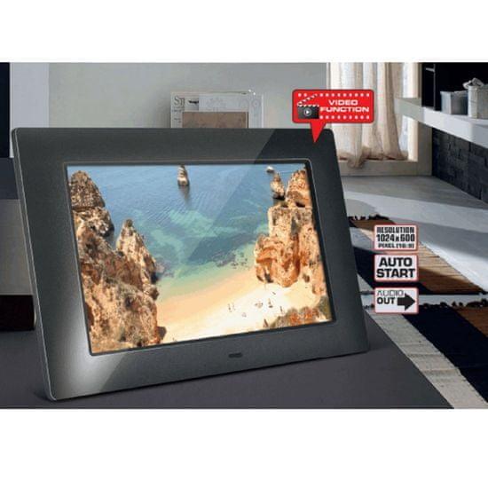 BRAUN DigiFrame 720 | Video digitalni okvir, črn