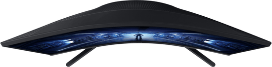 Samsung Odyssey G5 QHD VA monitor, ukrivljen (LC27G55TQWRXEN)