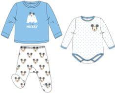 Disney set za dječake Mickey Mouse, bijelo / plavi 1-3 mjeseca