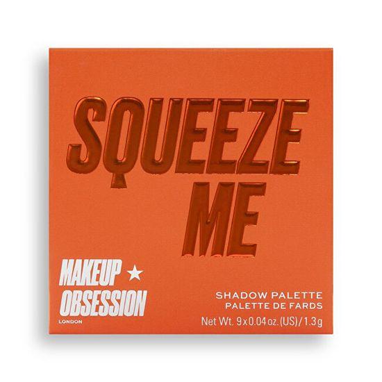 Makeup Obsession Szemhéjfesték paletta Squeeze Me(Shadow Palette) 11,7 g