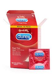 Durex Feel Thin kondomi, 18 komada