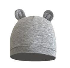 Yetty unisex dojčenská čiapka B481 XXXS šedá