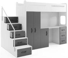 Furnitura POGRAD MAX 4 - GRAFIT (8v1)