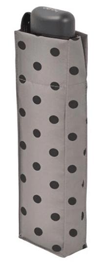 Doppler Mehanski zložljiv dežnik (Hit Mini Flat) Dots 722565PD02