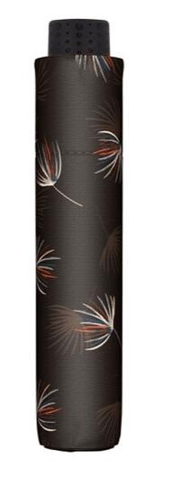 Doppler Damski zložljiv avtomatski dežnik Fiber Havanna Desire 722365DE03
