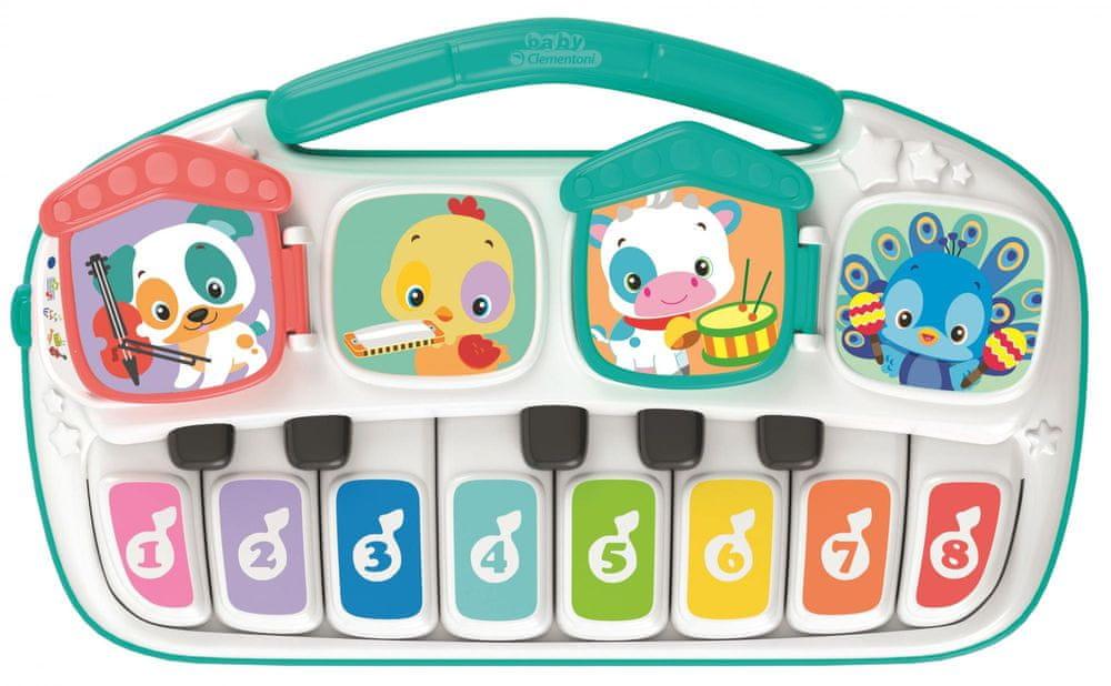 Hape Dětské elektrické piano se zvířátky