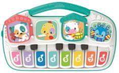 otroški električni klavir z živalmi