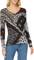 Desigual ženski pulover Jers Bergen 20WWJFA6, M, črni - Odprta embalaža