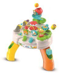 Clementoni wesoły stół do gry z klockami i zwierzętami Clemmy Baby