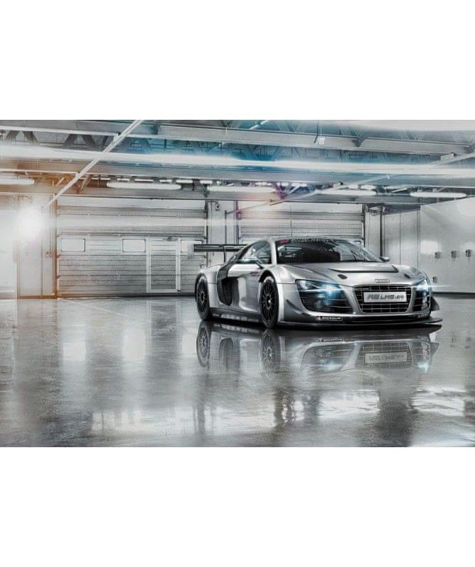 atelier largeur x hauteur Komar 8 Dimensions : 368 x 254 cm salon chambre /à coucher 742 Papier peint photo pour Audi R8 L.A pour voiture voiture de course