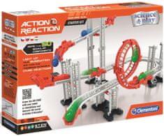 Clementoni tor kulkowy Akcja i Reakcja Starter, 50 elementów