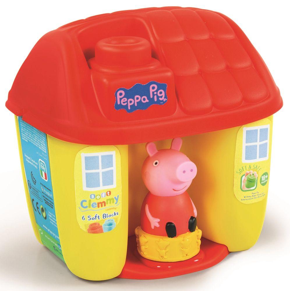 Clementoni Clemmy baby Peppa Pig kyblík s kostkami