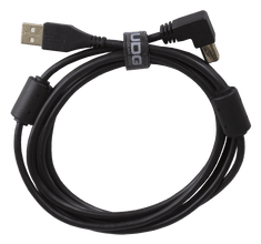 UDG Gear Ultimate Audio Cable USB 2.0 A-B Black Angled 1m