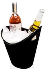 Rubikap Disco posoda za šampanjec, 26x21 cm, črna