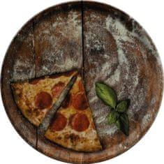 Saturnia pizza krožnik, 33 cm, Slice