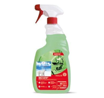 Sanitec Multi Activ čistilo za maščobe in dezinfekcijo z razpršilko, 750 ml