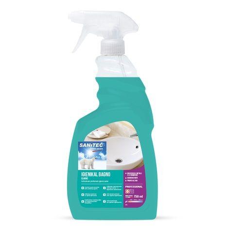 Sanitec Igienikal Bagno čistilo za sanitarije z razpršilko, 750 ml