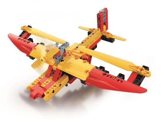 Clementoni laboratorium mechaniczne Wodny samolot 130 elementów