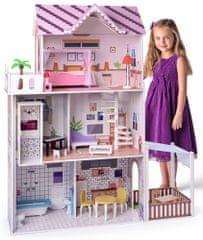 """Woody Rózsaszín ház felvonóval""""Malibu"""""""