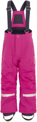 Didriksons1913 dívčí kalhoty D1913 Idre růžová 80