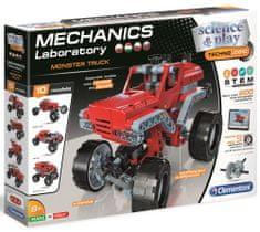 Clementoni laboratorium mechaniczne Monster truck 200 elementów