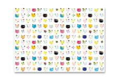 Goldbuch Baliaci papier Cats white 50x70cm